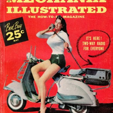 Mechanix Illustrated Cover Pin Up Girl