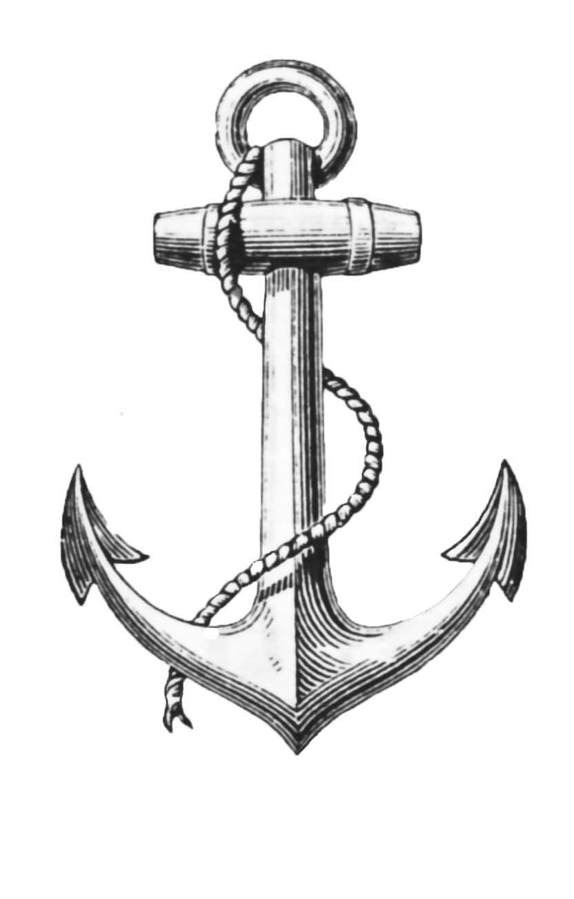 Vintage Nautical Clip Art 2 Anchor Graphics The Graphics Fairy Vintage Anchor Drawing