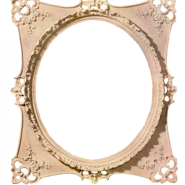Ornate Frame for Photos or Text