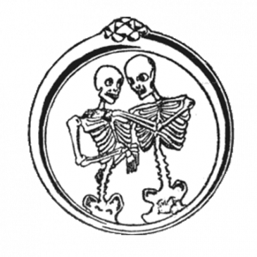 Skeleton Couple Graphic