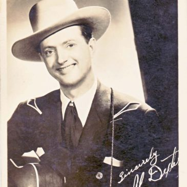 Singing Cowboy Al Dexter Photo