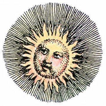 Vintage Sun Graphic