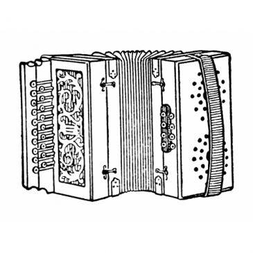 Accordion Vintage Graphic