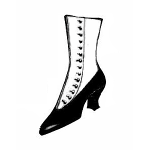 ladies victorian boot