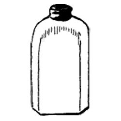 Vintage Bottle Jar Graphic