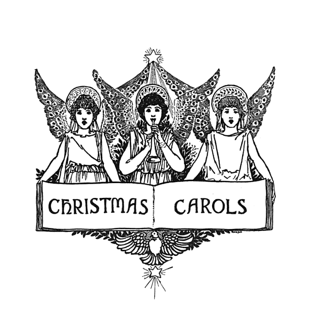 christmas carols angels